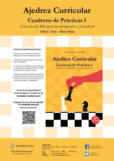 Cartel Promocional - Ajedrez Curricular