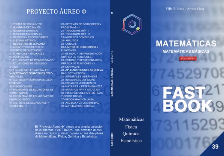 Portada FastBook Matemáticas