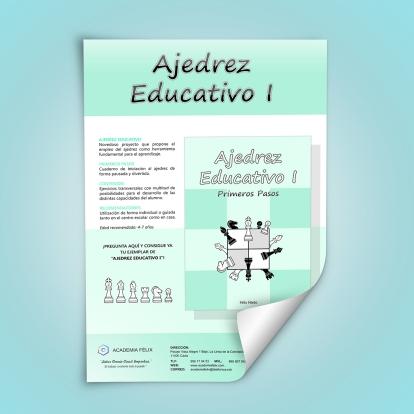 Ajedrez Educativo_Poster