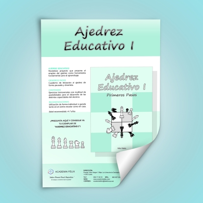 Ajedrez Educativo_Poster
