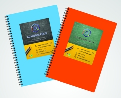 Notebook Stickers academiafelix